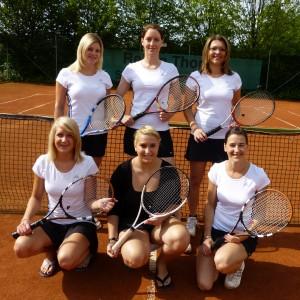 Meistermannschaft der Damen 2012